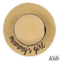 Mommy's Girl Beach Hat - Lyla Taylor Boutique