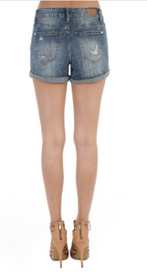 Summertime Sass Distressed Jean Shorts - Lyla Taylor Boutique