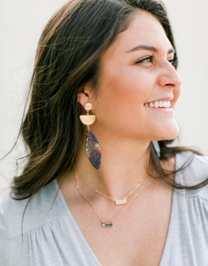 To the Sea Earrings - Lyla Taylor Boutique