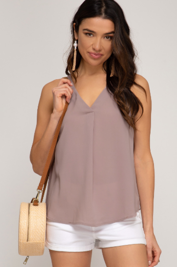 Sunrise To Sunset Mocha Blouse
