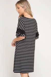 Adorably Yours Ruffle Sleeve Dress
