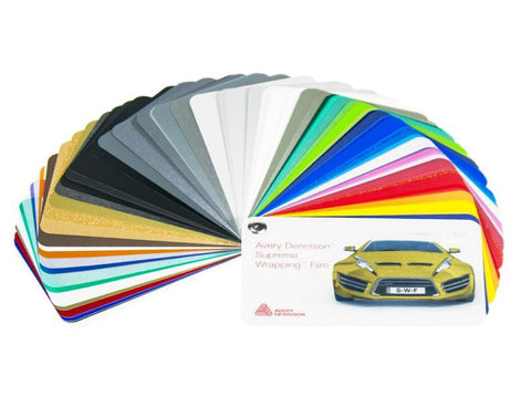 Wrap Vinyl Color Selector