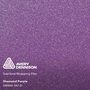 AVERY SW900 SUPREME GLOSS PURPLE DIAMOND | SW900-587-D Wrap Vinyl Avery Dennison