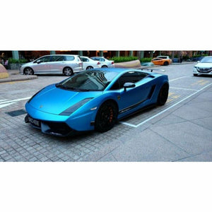 3M 1080 SCOTCHPRINT MATTE BLUE METALLIC VINYL WRAP | M227