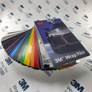 3M VINYL WRAP FILM SERIES 1080 / 2080 FULL COLOR SELECTOR SAMPLE BOOK