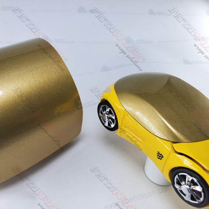Avery Supreme GLOSS GOLD METALLIC Vinyl Vehicle Car Wrap Film Roll SW900-215-M