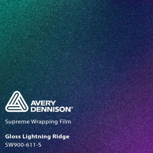 AVERY SW900 SUPREME COLORFLOW GLOSS LIGHTNING RIDGE | SW900-611-S Wrap Vinyl Avery Dennison
