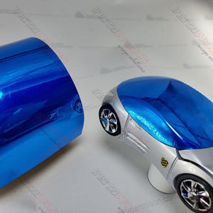 AVERY BLUE CONFORM CHROME FLEXIBLE VINYL WRAP FILM | SF100-256-S