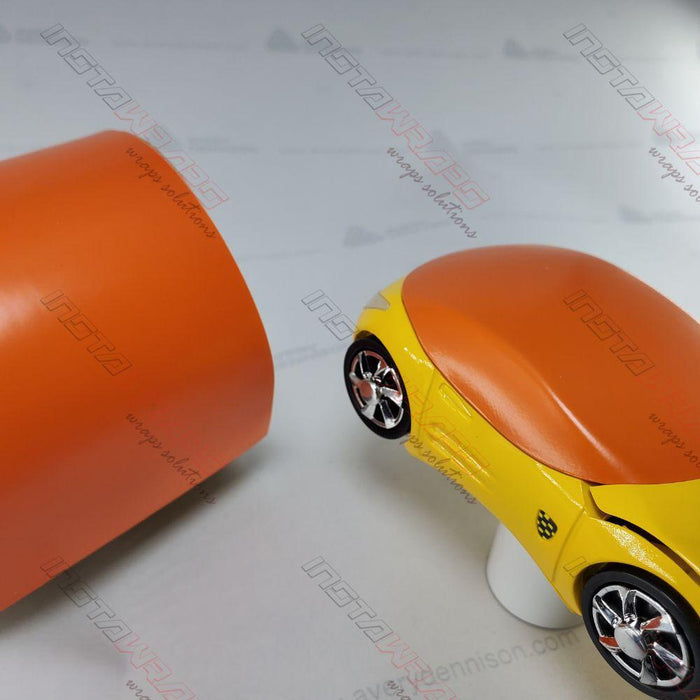 AVERY DENNISON SW900 SUPREME SATIN ORANGE VINYL WRAP | SW900-372-O