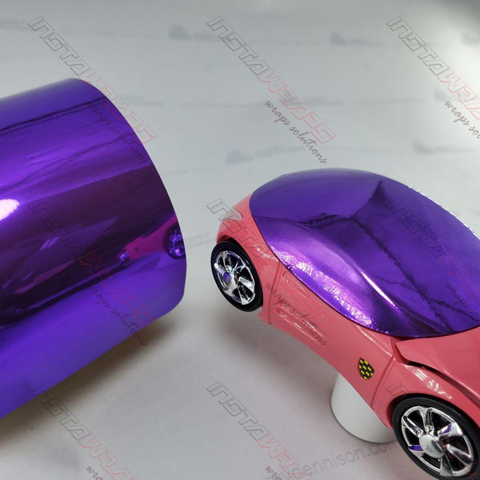 AVERY DENNISON VIOLET CONFORM CHROME FLEXIBLE VINYL WRAP | SF100-510-S