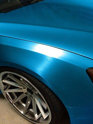 VVIVID VINYL XPO METALLIC BLUE BRUSHED STEEL