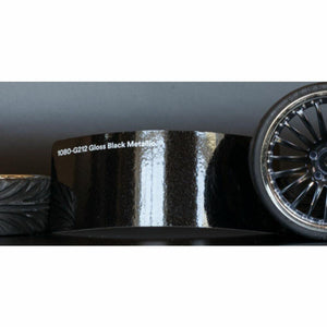 3M 1080 SCOTCHPRINT GLOSS BLACK METALLIC VINYL WRAP | G212