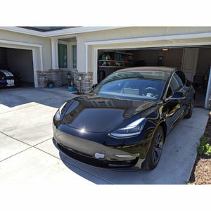 3M 1080 SCOTCHPRINT GLOSS EMBER BLACK VINYL WRAP | GP282