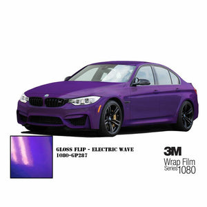 3M 1080 SCOTCHPRINT GLOSS FLIP ELECTRIC WAVE VINYL WRAP | GP287