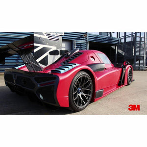 3M 2080 SCOTCHPRINT GLOSS FLAME RED VINYL WRAP | G53