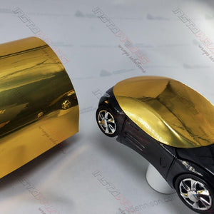 AVERY GOLD CONFORM CHROME FLEXIBLE VINYL WRAP FILM | SF100-604-S