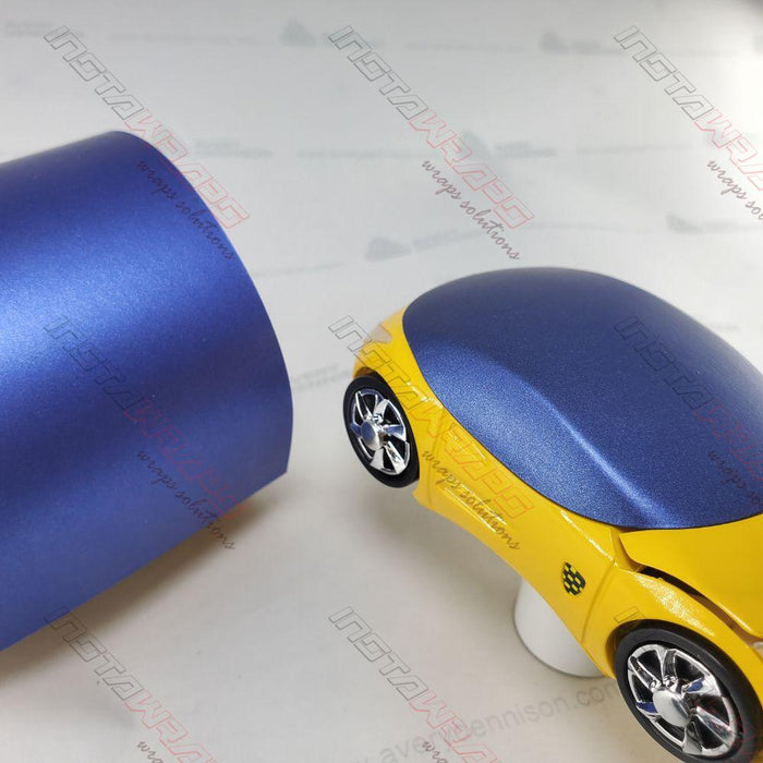 AVERY DENNISON SW900 SUPREME MATTE BRILLIANT BLUE METALLIC VINYL WRAP | SW900-671-M