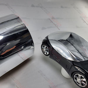 AVERY SILVER CONFORM CHROME FLEXIBLE VINYL WRAP FILM | SF100-843-S