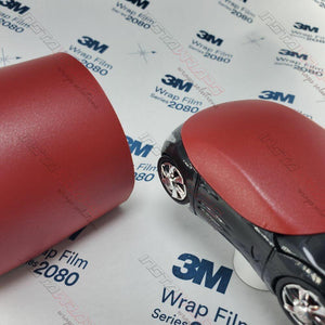 3M 1080 SCOTCHPRINT MATTE RED METALLIC VINYL WRAP | M203