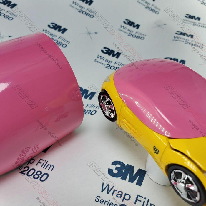 3M 1080 SCOTCHPRINT GLOSS HOT PINK VINYL WRAP | G103