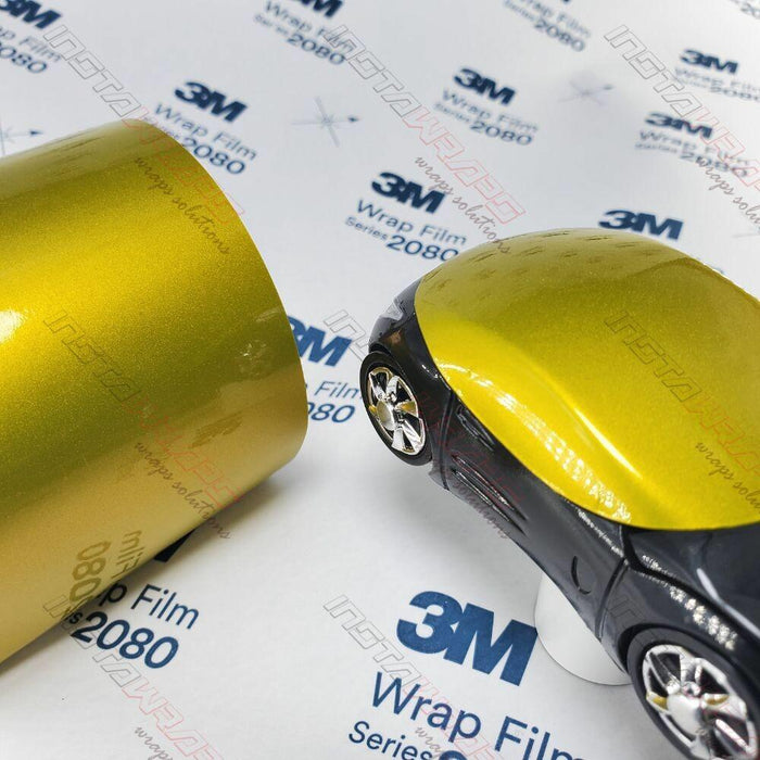 3M 1080 SCOTCHPRINT GLOSS LEMON STING VINYL WRAP | G335