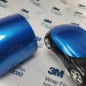 3M 1080 SCOTCHPRINT GLOSS BLUE METALLIC VINYL WRAP | G227