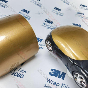 3M 1080 SCOTCHPRINT GLOSS GOLD METALLIC VINYL WRAP | G241