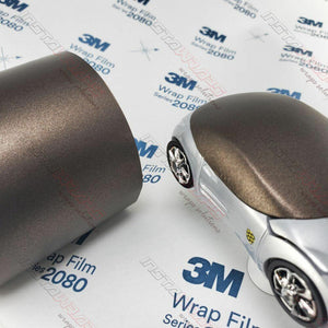 3M 1080 SCOTCHPRINT MATTE METALLIC BROWN VINYL WRAP | M209