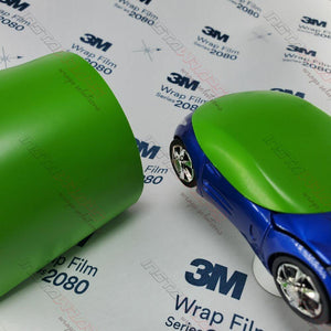 3M 1080 SCOTCHPRINT SATIN APPLE GREEN VINYL WRAP | S196