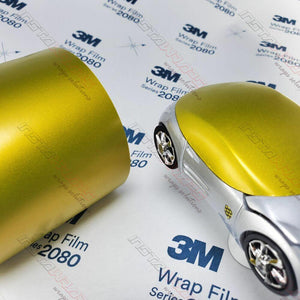 3M 1080 SCOTCHPRINT SATIN BITTER YELLOW VINYL WRAP | S335