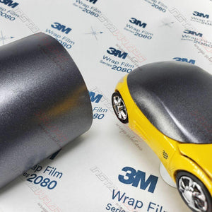 3M 1080 SCOTCHPRINT SATIN DARK GRAY VINYL WRAP | S261