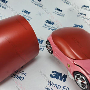3M 1080 SCOTCHPRINT SATIN SMOLDERING RED VINYL WRAP | S363
