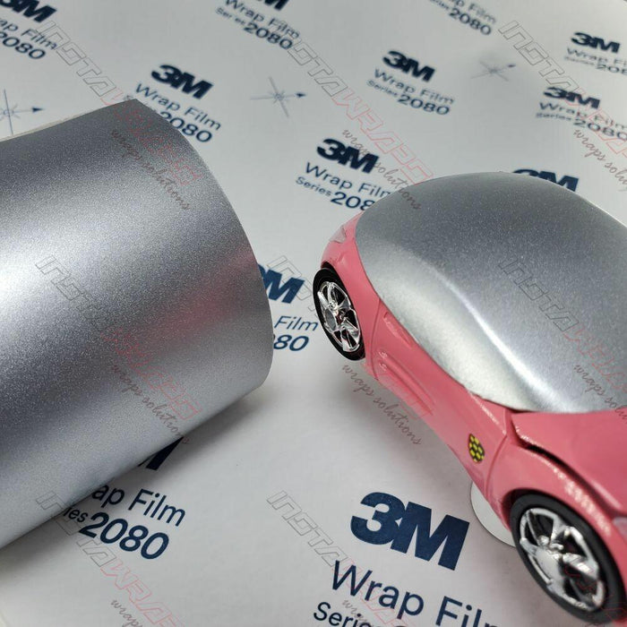 3M 1080 SCOTCHPRINT SATIN WHITE ALUMINUM VINYL WRAP | S120