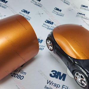 3M WRAP SCOTCHPRNT FILM 1080 SATIN CANYON COPPER VINYL WRAP | S344