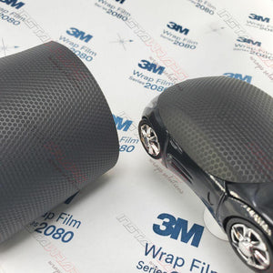 3M 1080 SCOTCHPRINT MATRIX BLACK TEXTURED VINYL WRAP | MX12