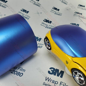 3M 1080 SCOTCHPRINT SATIN FLIP GLACIAL FROST VINYL WRAP | SP277