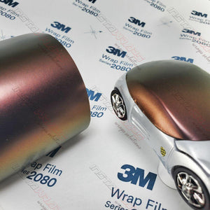 3M 1080 SCOTCHPRINT SATIN FLIP VOLCANIC FLARE VINYL WRAP | SP236
