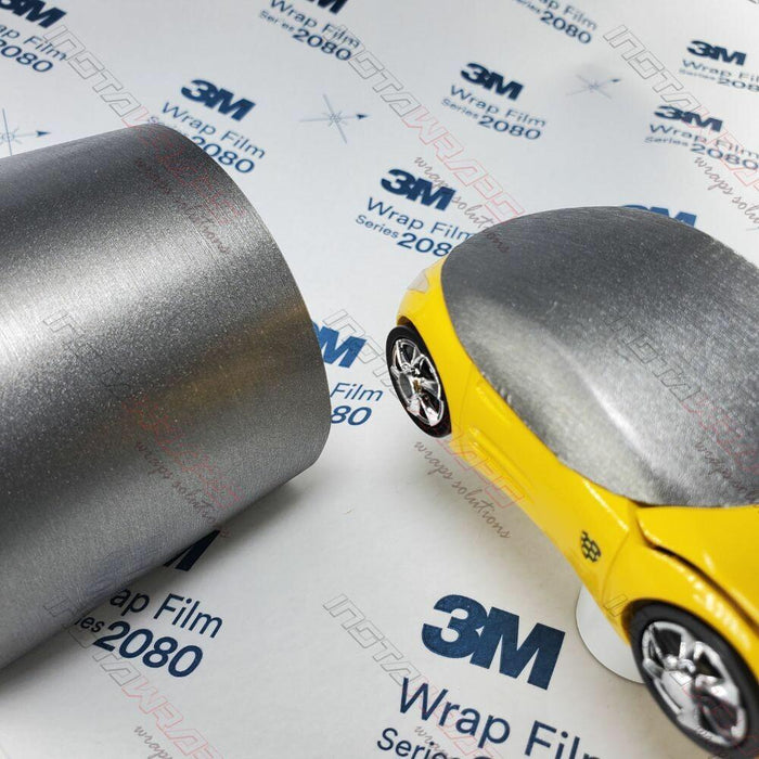 3M 1080 SCOTCHPRINT BRUSHED TITANIUM VINYL FLEX WRAP | BR230