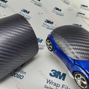 3M 1080 SCOTCHPRINT ANTHRACITE CARBON FIBER VINYL WRAP | CFS201