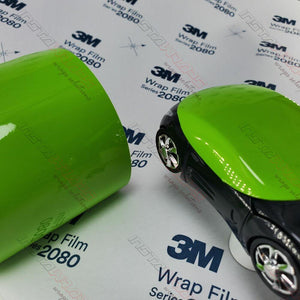 3M 2080 SCOTCHPRINT GLOSS LIGHT GREEN VINYL WRAP | G16