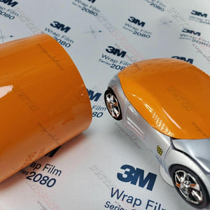 3M 2080 SCOTCHPRINT GLOSS DEEP ORANGE VINYL WRAP | G24