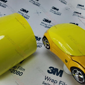 3M 2080 SCOTCHPRINT GLOSS LUCID YELLOW VINYL WRAP | G55