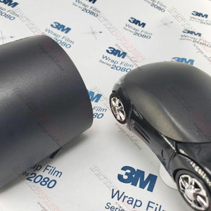 3M 2080 SCOTCHPRINT MATTE BLACK METALLIC VINYL WRAP | M212