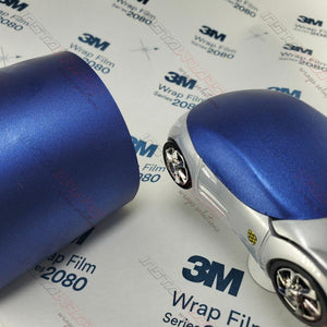 3M 2080 SCOTCHPRINT MATTE SLATE BLUE METALLIC VINYL WRAP | M217