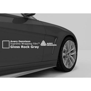 AVERY SW900 SUPREME GLOSS ROCK GREY | SW900-821-O Wrap Vinyl Avery Dennison