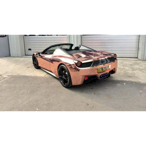 AVERY ROSE GOLD CONFORM CHROME FLEXIBLE VINYL WRAP FILM | SF100-211-S