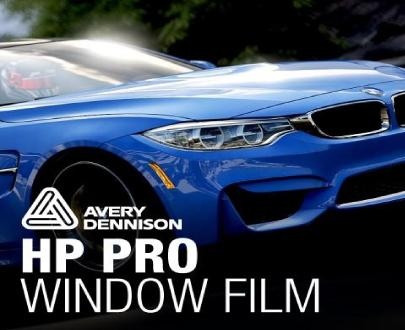 AVERY DENNISON HP PRO AUTOMOTIVE WINDOW FILM