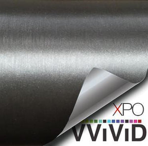 VVIVID VINYL XPO GUNMETAL BRUSHED STEEL