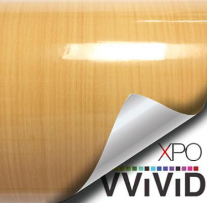 VVIVID VINYL GLOSS GOLD PINE WOOD ARCHITECTURAL FILM - V114