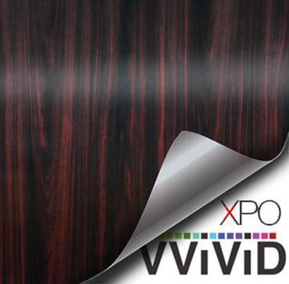 VVIVID VINYL DARK WOOD GRAIN ARCHITECTURAL FILM - V116